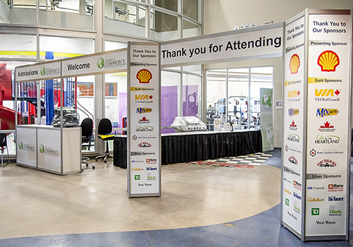 Custom Graphics for trade shows & conferences