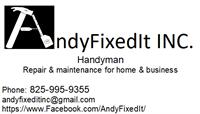 AndyFixedIt INC