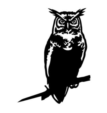 Owl Tree Ornament