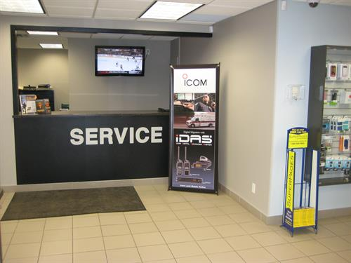 Our Service Counter