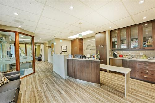 Prairie Dental Leduc - Reception