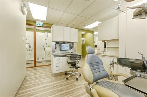 Prairie Dental Leduc - Dentist Chair View