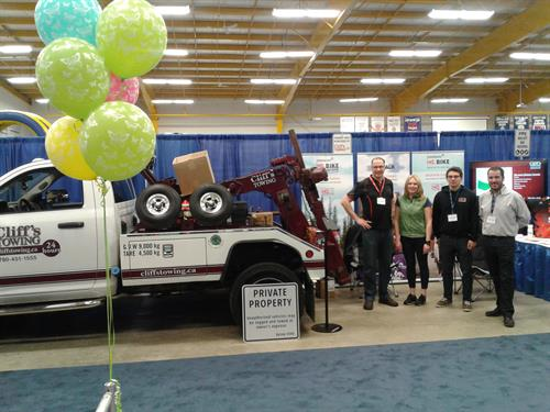 Cliff's Towing, Leduc Chamber, MS Society, Leduc Yellow Taxi