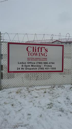 Leduc Cliffs Towing Yard 2
