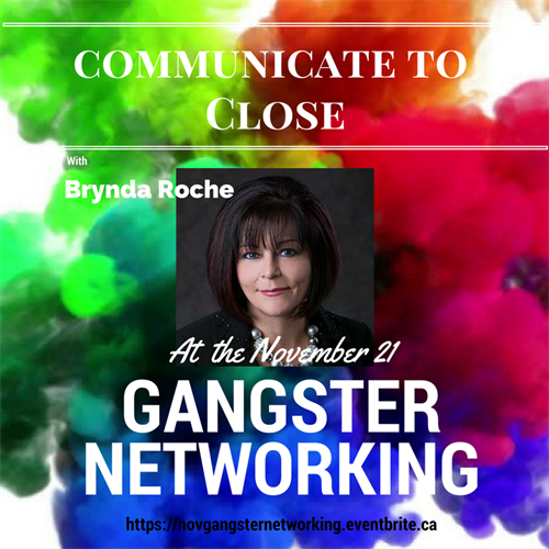 Gangster Networking will be making a comeback soon! Keep watching our social media for more details.