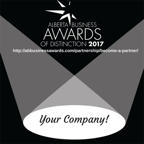 Just wrapped up working with the Alberta Business Awards of Distinction 2017. 2018 will be looking for nomination and sponsors soon