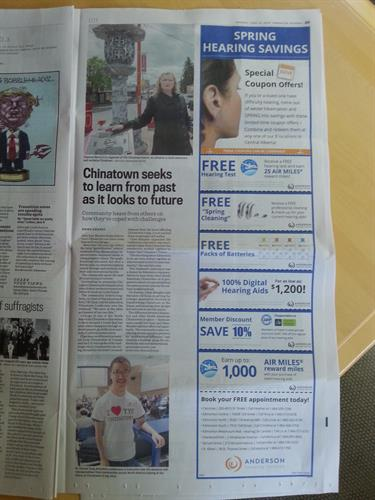 Another Edmonton Journal spotlight! We helped Yeg Chinatown Events launch their initiative and plan their first event