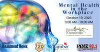 MEMBER HOSTED EVENT: Mental Health in the Workplace | Beaumont Chamber of Commerce