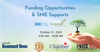 MEMBER HOSTED EVENT: Community Futures & NABI: Funding Opportunities & SME Supports | Beaumont Chamber of Commerce