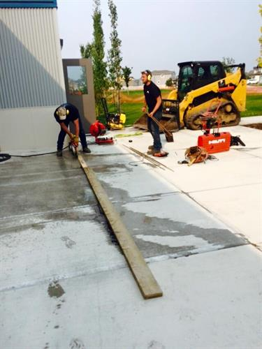 Concrete Repair -Clark Builders Red Deer