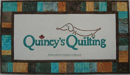 Quincy's Quilting Banner