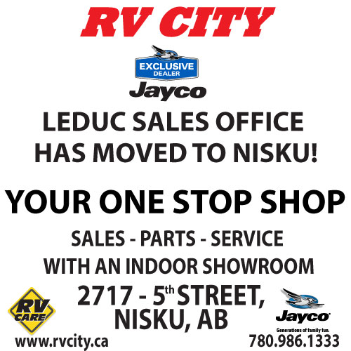 Leduc RV City Sales office has MOVED to Nisku Location