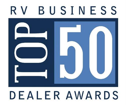2014 & 2016 Winner of RV Business TOP 50 Dealer Award