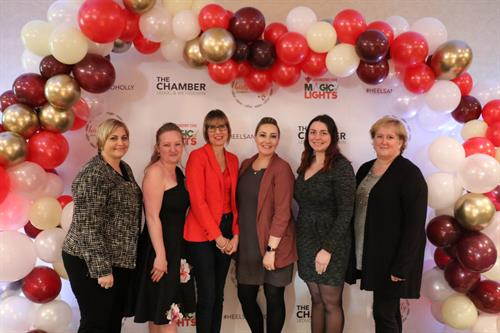 Heels & Holly Luncheon Representing Leduc's Leading Women-now Woman for Woman) (Dec 2018)