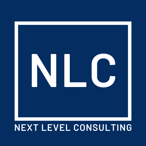 "Next Level Consulting ""Home"" Logo (Dec 2019)"