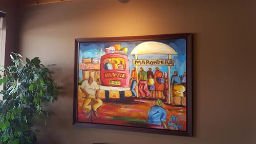 The Headhunters Edmonton - All Office Artwork by Zimbabwean Artist Allen Kupeta