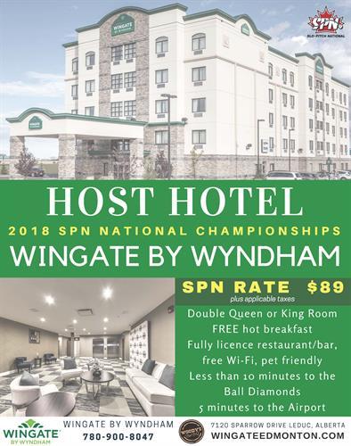 Wingate by Wyndham - HOST HOTEL