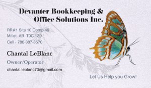 Devanter Bookkeeping & Office Solutions Inc