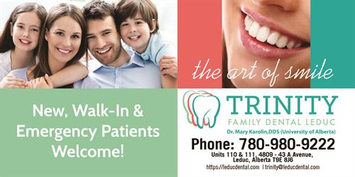 Trinity Family Dental Leduc