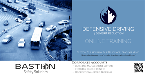 Defensive Driving 3 Demerit Reduction Course Online!