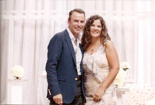Met Colin Cowie during Destination Wedding Training