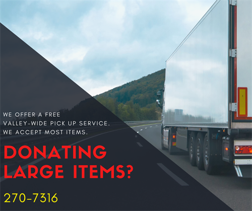 Donation Pickup Service