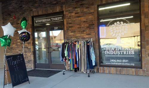 Whitefish Thrift Store Front
