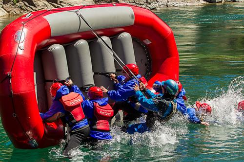 White Water Skills Camps for kids teaches them a lot.