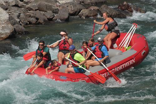 More rafting fun.