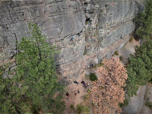 Climbing at Kila