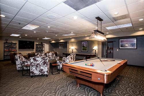 """The Den"" Game Room"