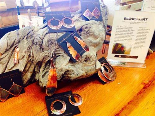 Largest selection of unique Made in Montana products found in the Discovery Center's gift shop