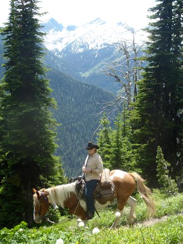 Custom trail rides in the Swan Valley give guests a true taste of the Montana wilderness