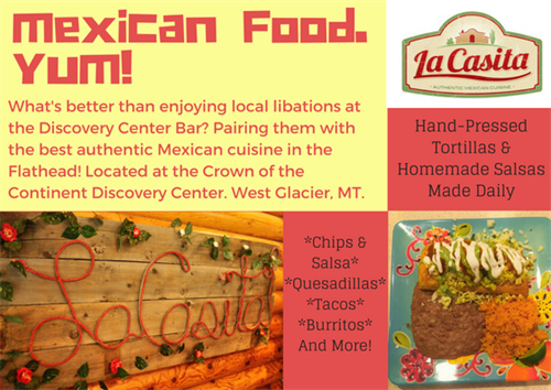 La Casita is a must stop for reasonalbly priced, filling and delicious Mexican food