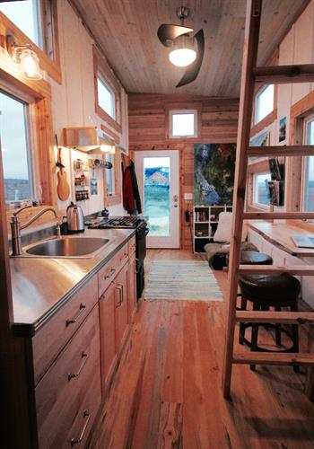 Linden Retreat Tiny Home on Wheels
