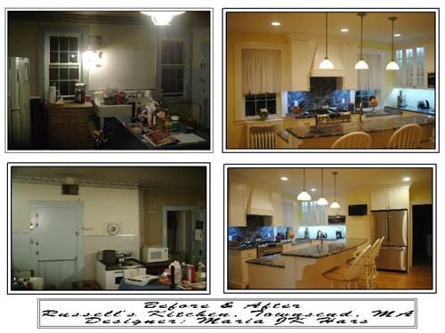 Before & After Farmhouse Kitchen Remodel