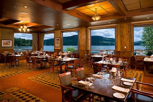 Boat Club Dining Room at The Lodge at Whitefish Lake