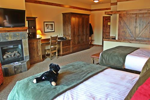 Viking Lodge Room at The Lodge at Whitefish Lake
