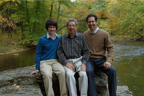 3 Generations of Matarazzo men, shortly before Fred Matarazzo's passing