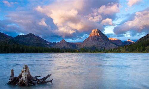 Just out side Glacier National Park