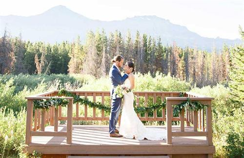 Beautiful Glacier Weddings