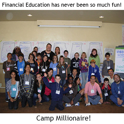 One of our Camp Millionaire summer camps!
