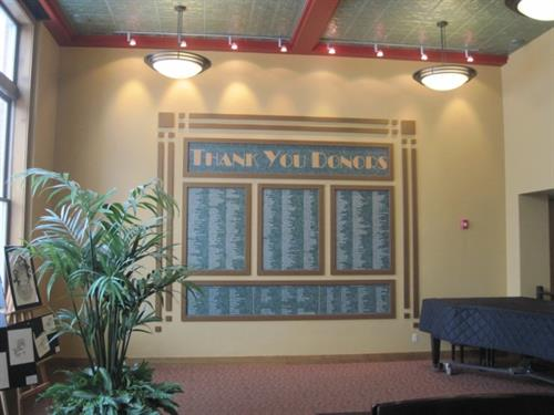 Printed Full Color Panels for Custom Donor Board