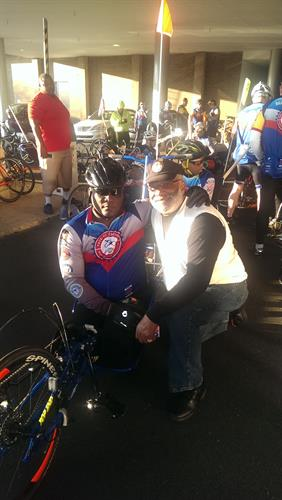 Wounded Veteran Bike Ride