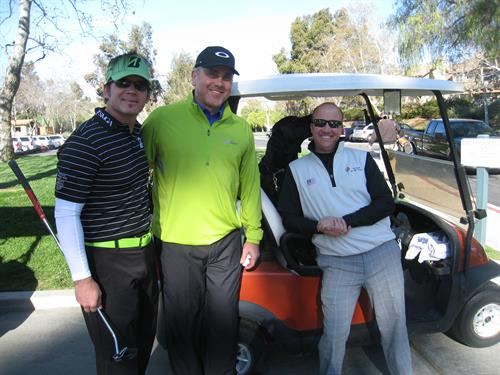 Warriors with Del Monte Sponsor, IHOOT Charity Golf Tour Southern California
