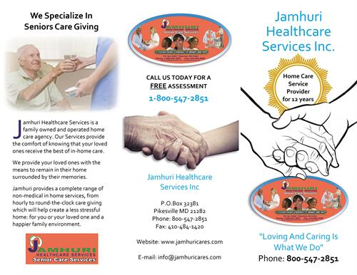 We specialize in providing exceptional live in or live out care for, seniors and persons with illness, disabilities or special needs in Pik