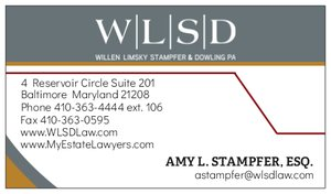 Amy Stampfer Business Card