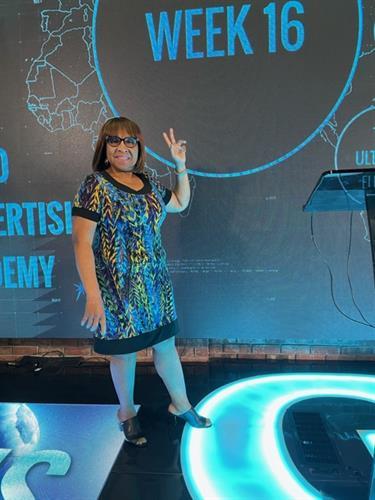 Merlyn Clarke - Guest at Billy Gene Shaw's Studio in San Diego