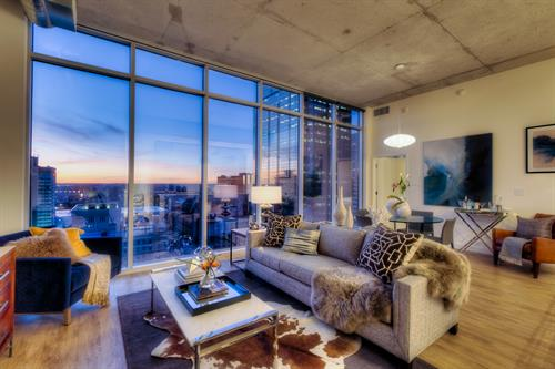 Penthouse options available