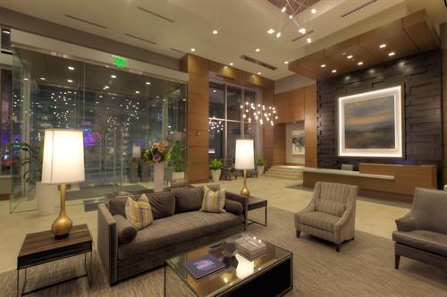 24-hour staffed lobby